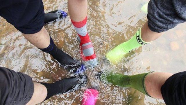 地磯での釣りも雨にも足元は超快適!WATERFLY 防水ソックスを履いてみた!!